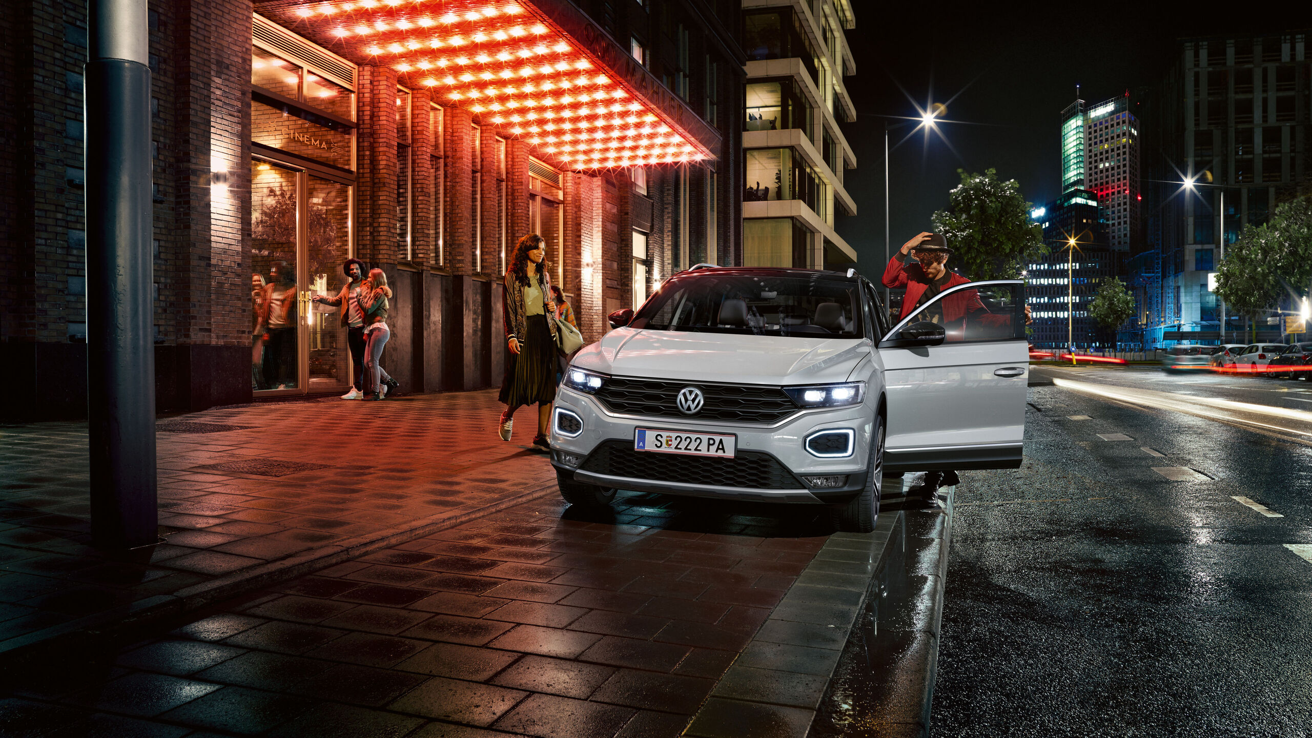 vw volkswagen t-roc white