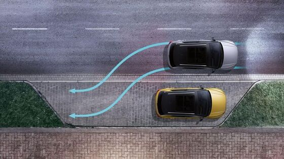 vw volkswagen t-roc park assist